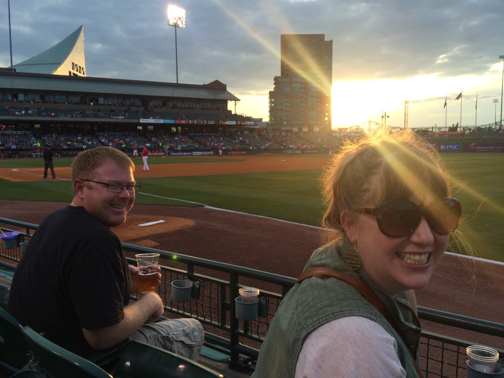 Relaxin' at Slugger Field