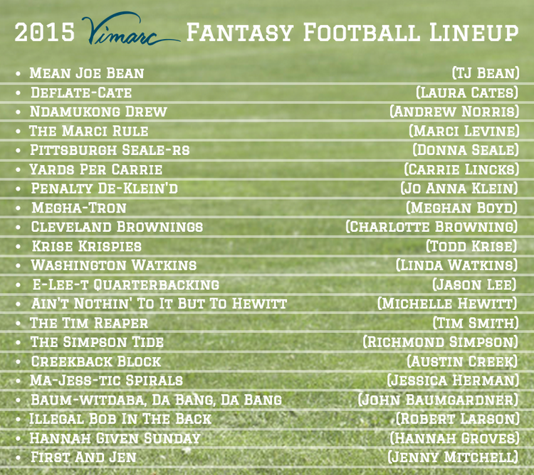 2015 Funny Fantasy Football Names — Vimarc - Louisville ...
