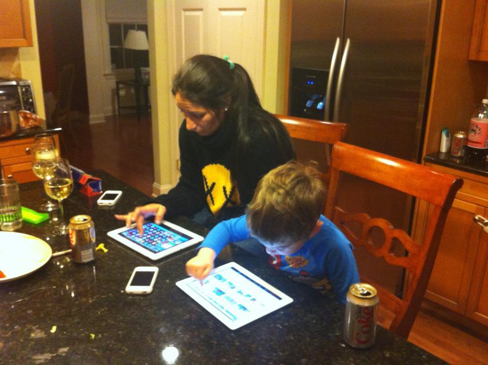 Luke iPad