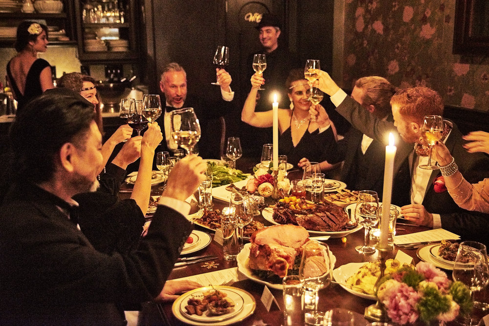 Elegant Private Dining in NYC - Host your group dinner at The Louie, our restaurant's private room