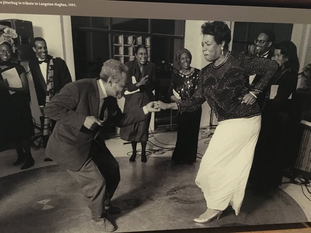 Maya Angelou puttin' in work!