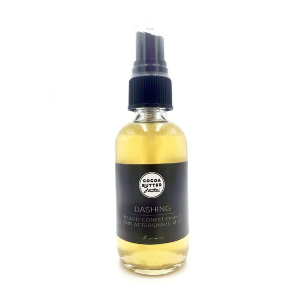 """Dashing"" Beard Conditioning and Aftershave Mist"