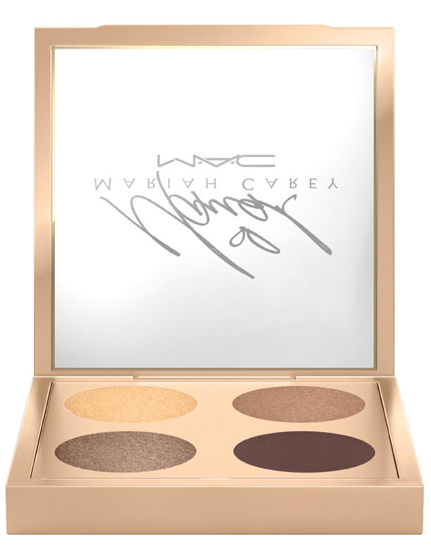 MAC Mariah Carey in I'm That Chick You Like/Eye Shadow x4, $41, Mariah Carey x MAC Cosmetics.  Photo: MAC Cosmetics