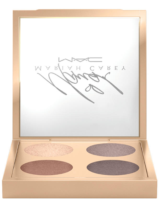 MAC Mariah Carey in It's Everything/Eye Shadow x4, $41, Mariah Carey x MAC Cosmetics.  Photo: MAC Cosmetics