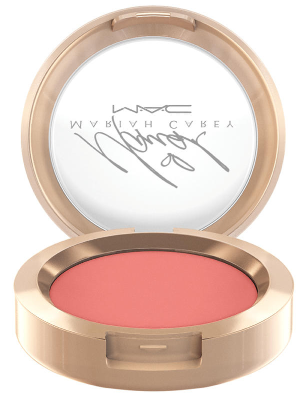 MAC Mariah Carey Powder Blush in Sweet Sweet Fantasy, $24, Mariah Carey x MAC Cosmetics.  Photo: MAC Cosmetics