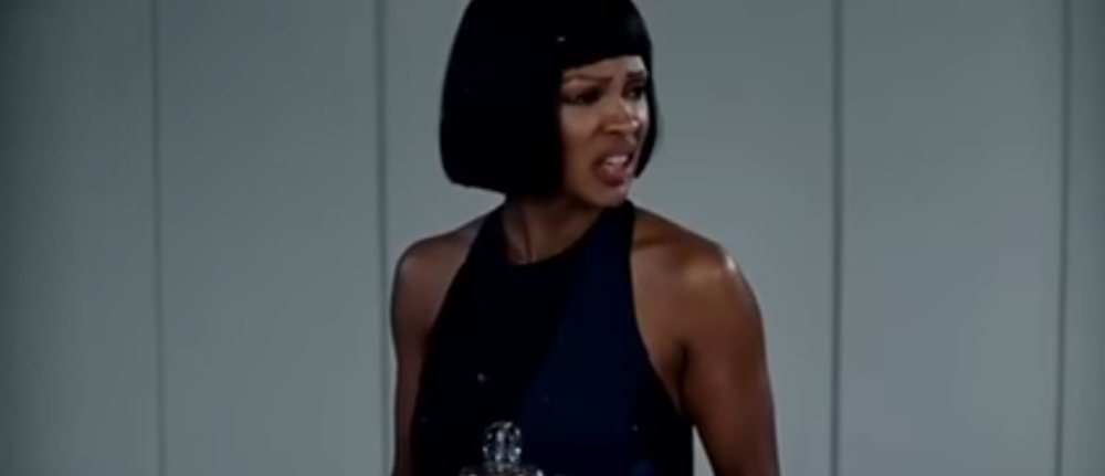 Renisha came to fuck shit up: Gabby (in her Renisha wig) completely tore Chris' apartment up after he told her he wasn't really looking for a new relationship with her