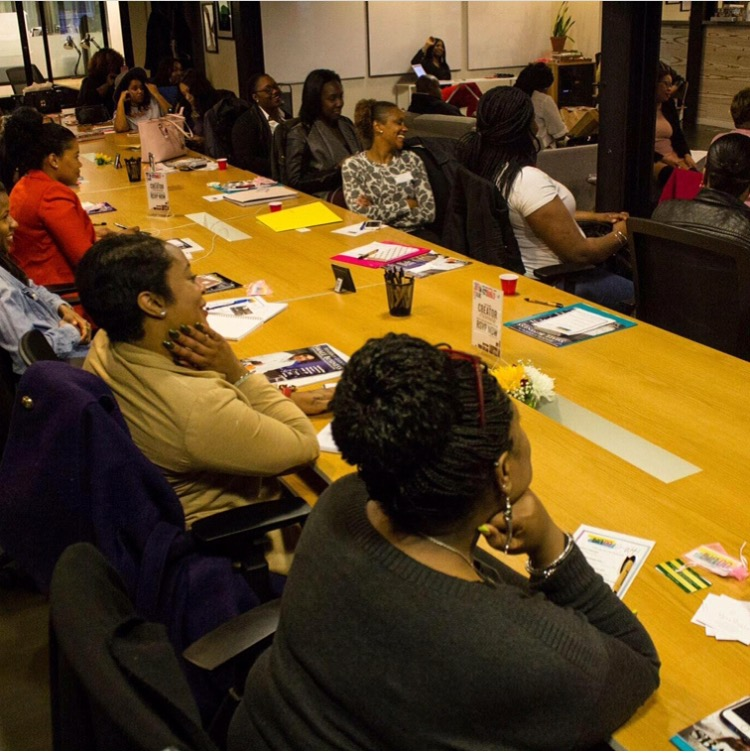 Get that good business knowledge! Black Girls Do Photo Courtesy: @jsimmsevents