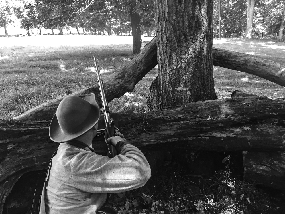 Annual Civil War reenactment at the William Harris Homestead