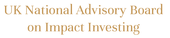 UK National Advisory Board on Impact Investing