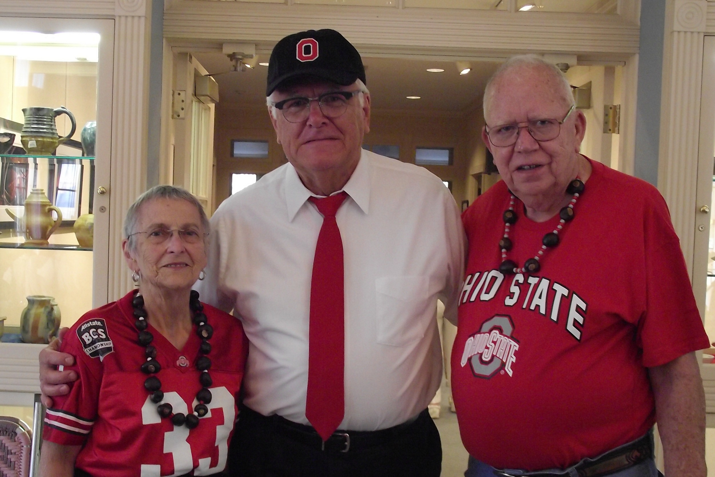 Griswold tailgate Woody Hayes impersonator photo