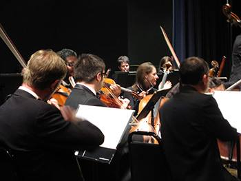 The McConnell Arts Center Chamber Orchestra, courtesy of the Peggy R. McConnell Arts Center of Worthington
