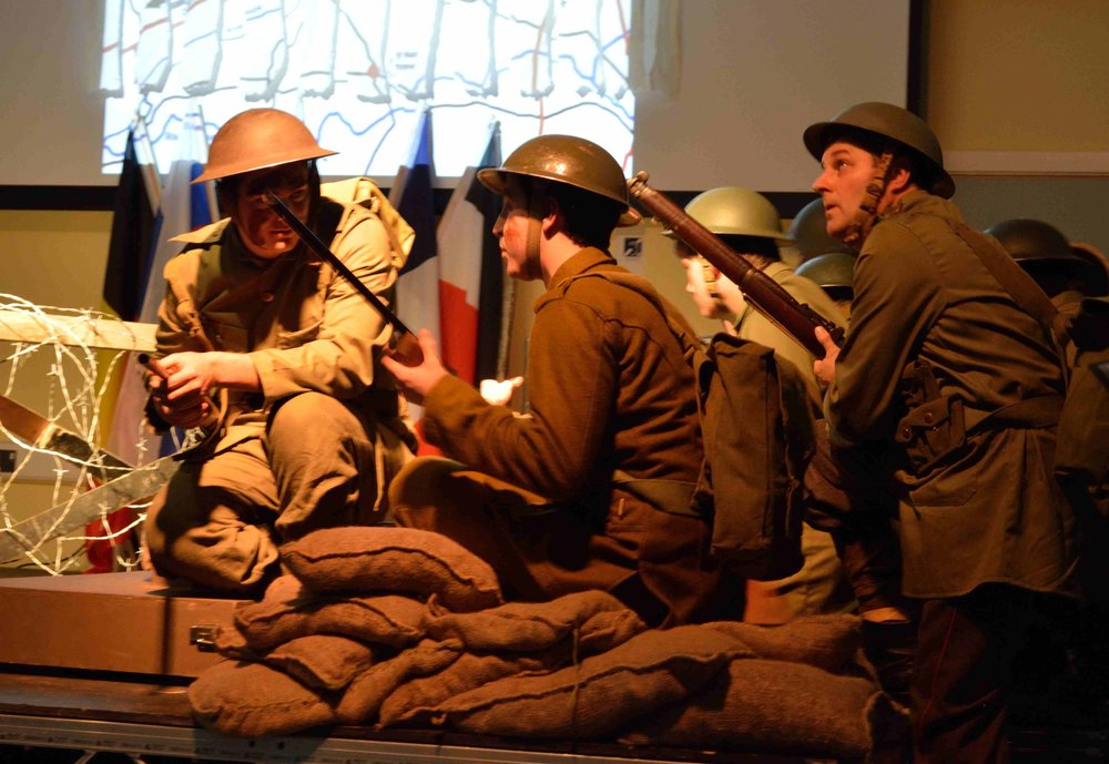 WW1 - A Village at War - nteractive exhibition and newly commissioned opera