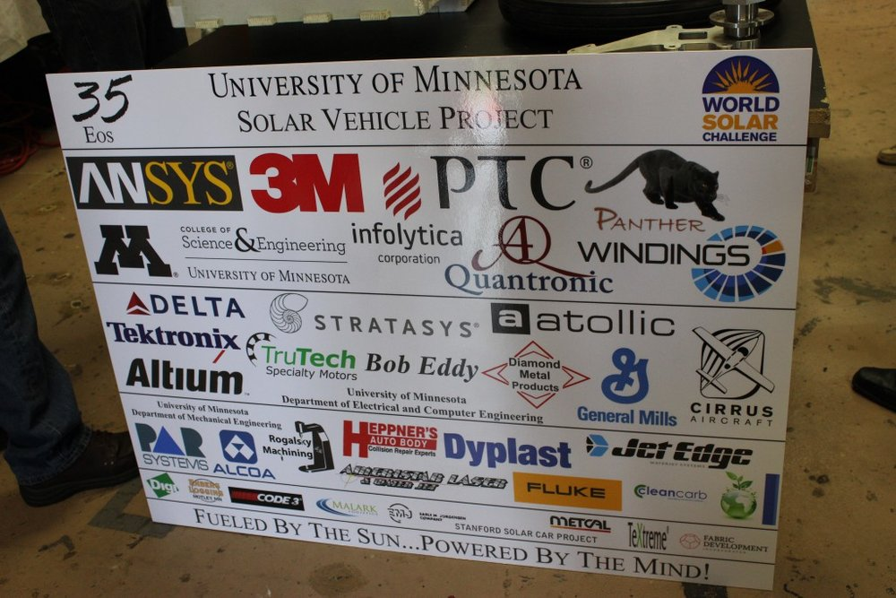 Thank you to all of our sponsors