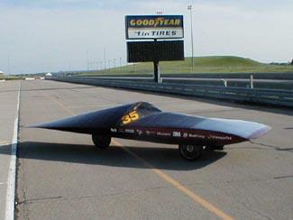 design of borealis university of minnesota solar vehicle project