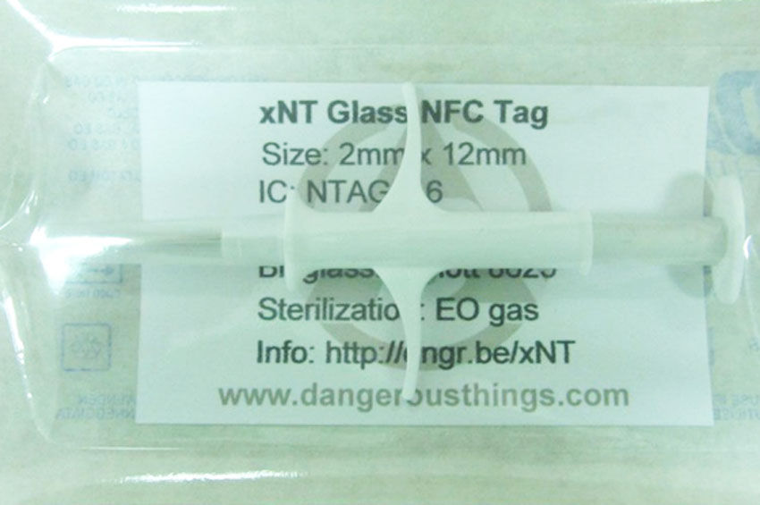 A $99 kit for injecting chips into the body, for sale at dangerousthings.com