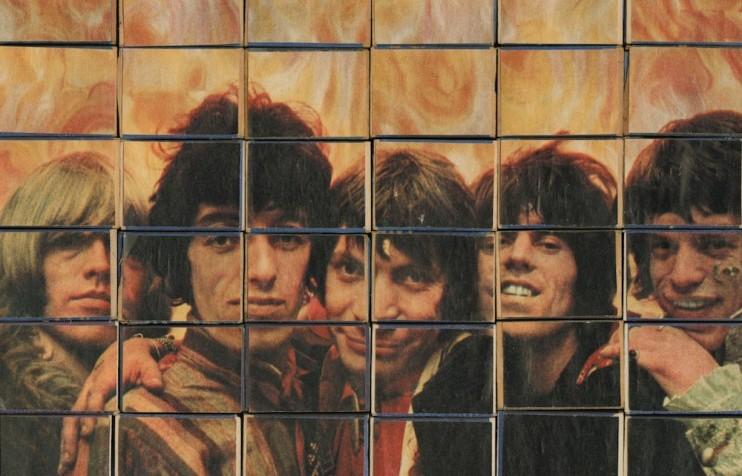 OHO/Marko Pogačnik,Rolling Stones, 36 matchboxes, 1968