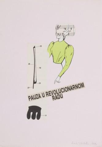 Katalin Ladik,  Pause in Revolutionary Work  , 1979
