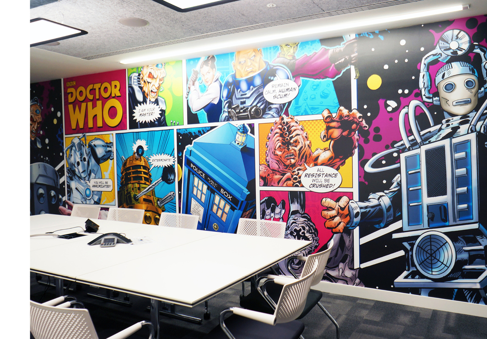Doctor Who Wall Mural Part 30