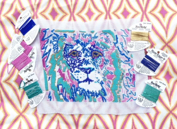 Our summer is off to a colorful start with our Lily the Lion design!