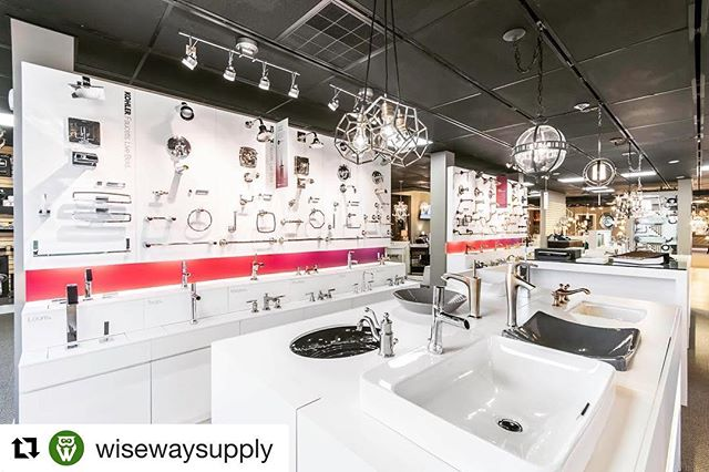 We are proud to partner with the #1 Kohler distributor in the region. If you are looking for a luxury bathroom or kitchen design for your new home or remodel make sure to check out @wisewaysupply design showroom in Florence, KY. The customer service is top notch and you will be pleased with all of their offerings. They have 8 distribution centers across the Northern Kentucky and Greater Cincinnati Region. Photo Credit goes to the collaborative partnership of Diana Kelly-Davis.
