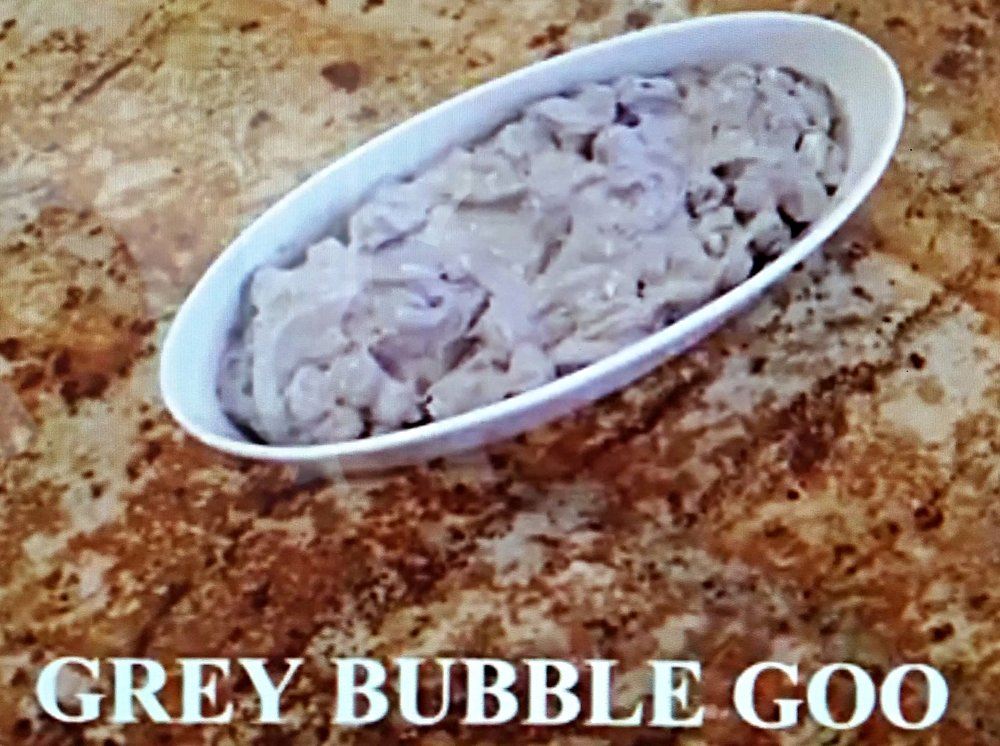 Grey Bubble-Goo Fluff - perfect for any kids party or sleep over.