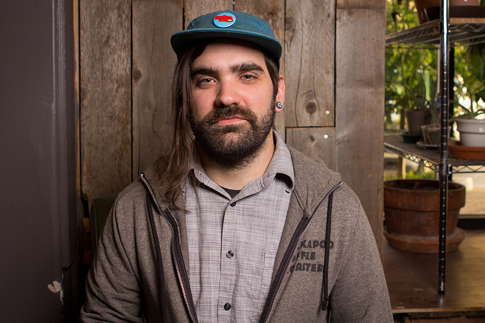 Jeff, lead barista & musician