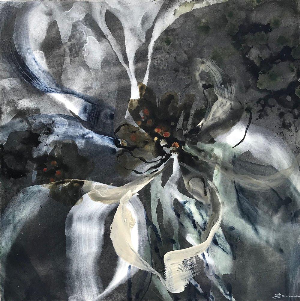 "Twilight • Acrylic on Canvas • 24"" x 24"""