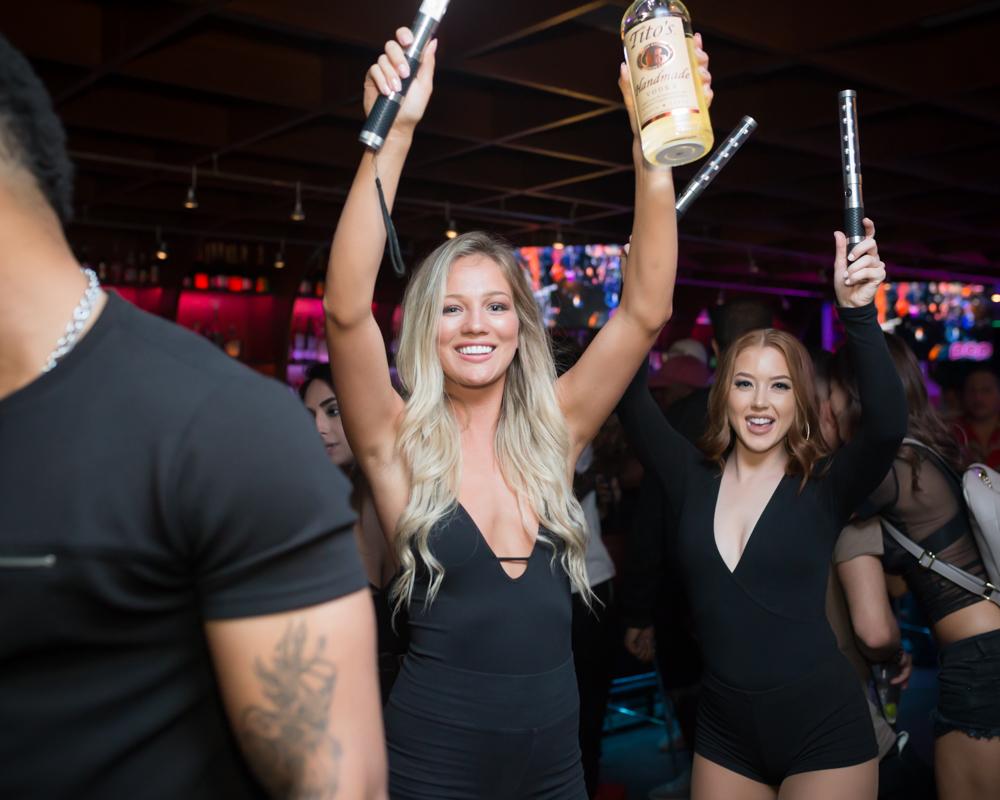 POP: Bottles, shots, beautiful ladies, it's party time!