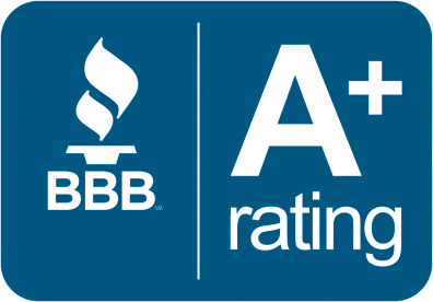 Anthony holds an A+ Rating with the BBB