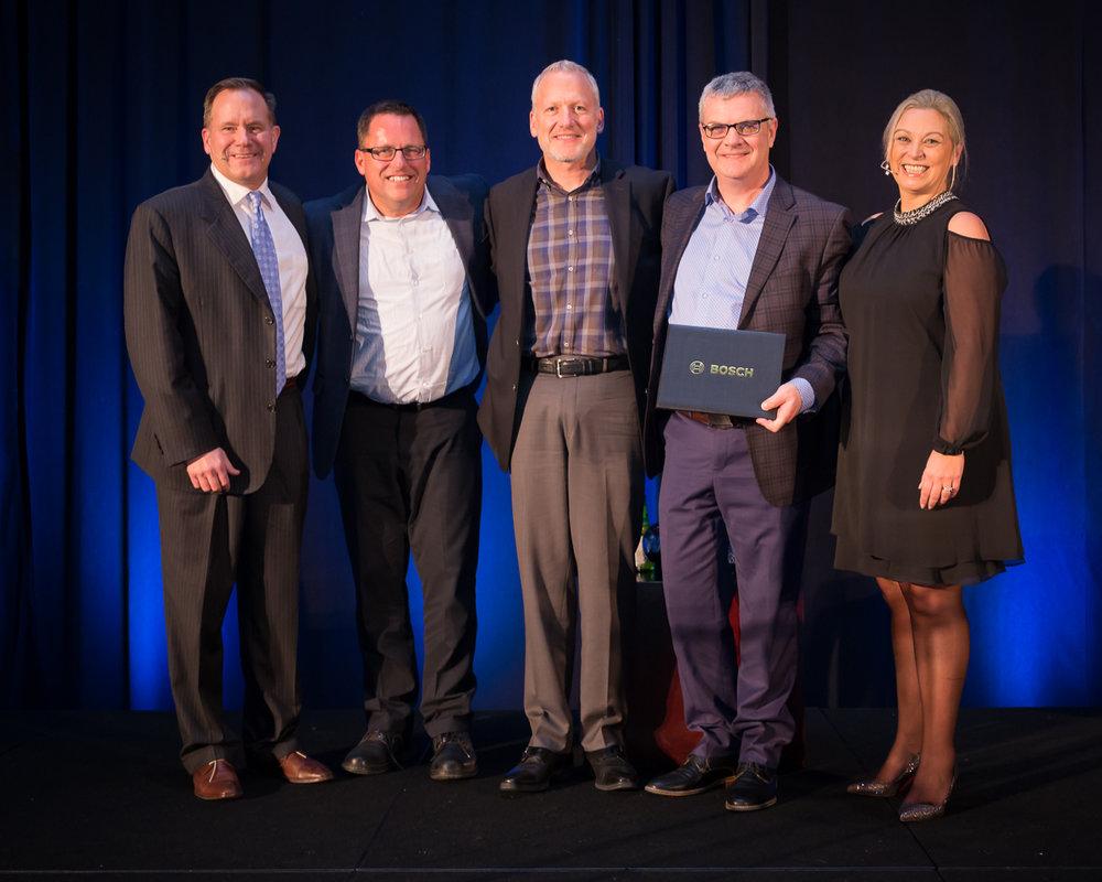 Bosch North America Sales Kick Off Awards winners 2018