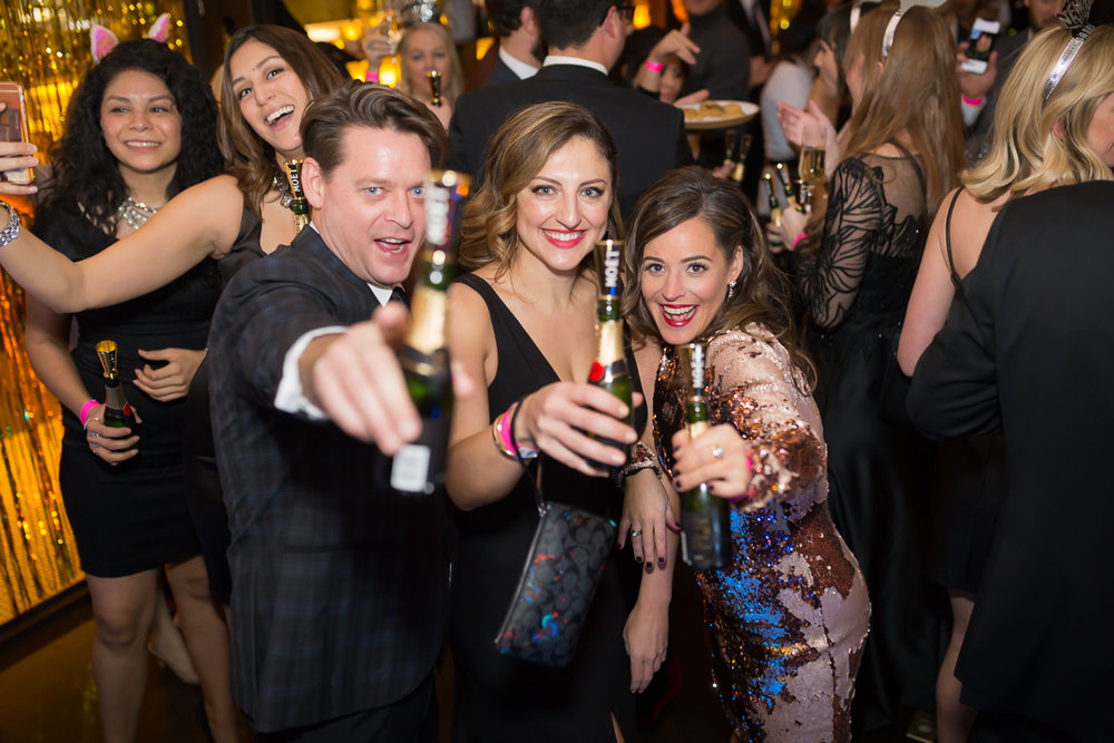 Celebrating NYE at Eberly Austin 2018
