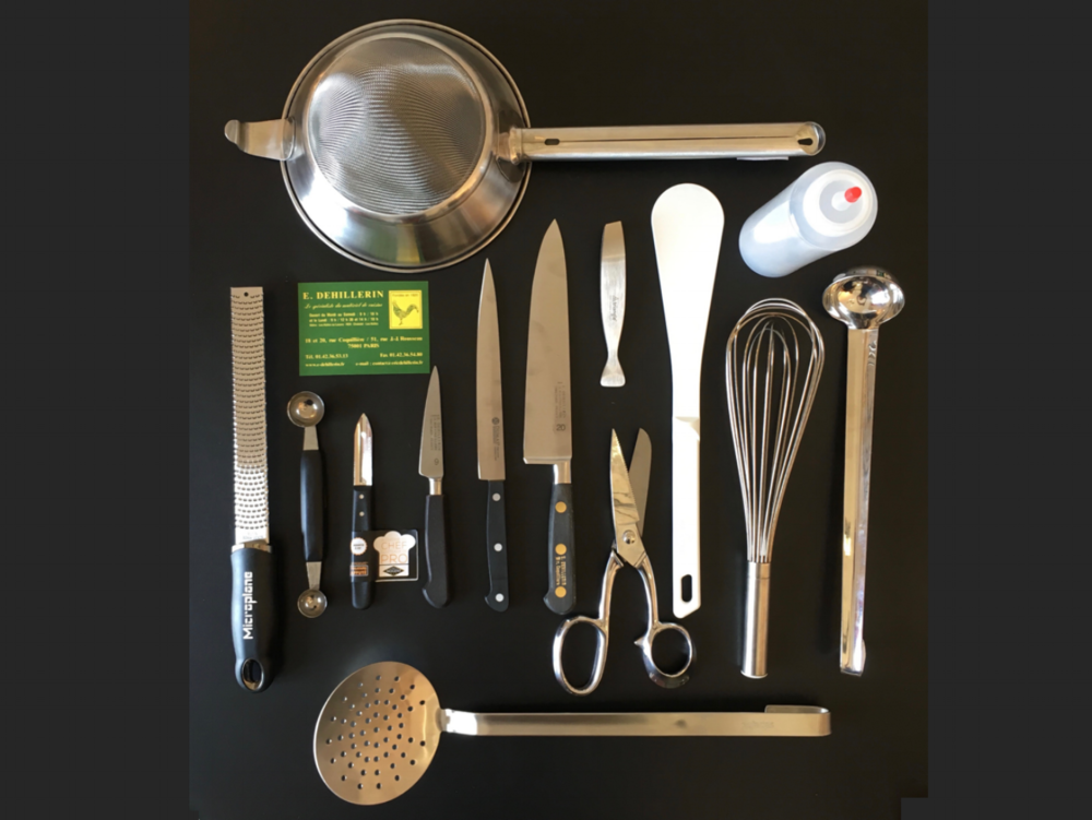 Professional Cuisine Toolkit - Everything you need to equip your kitchen like a chefJust €300