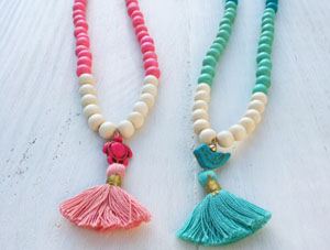 Little Girls Ombre Necklace