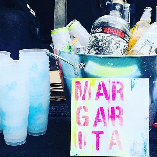 Missing last weekends Margarita bar. #saltwaterct