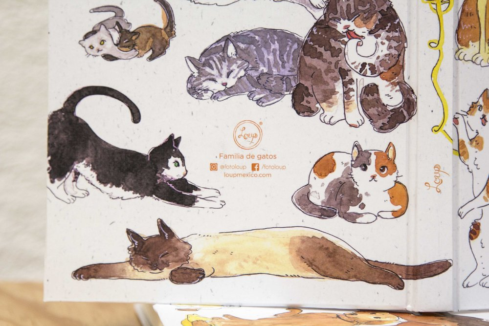 libreta C5 familia gatos detalle 02.jpg
