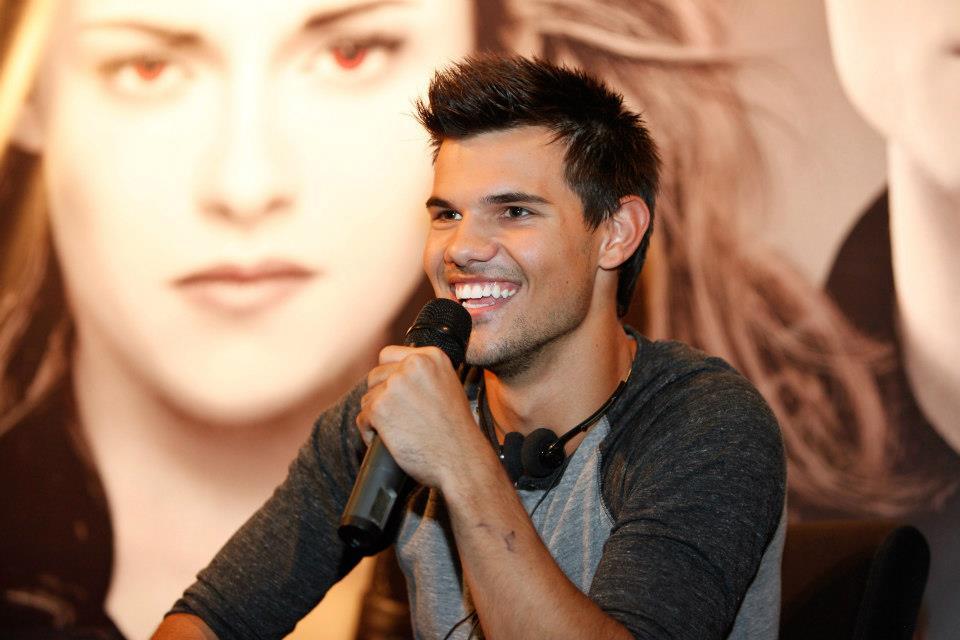 Vinda do ator Taylor Lautner ao Rio