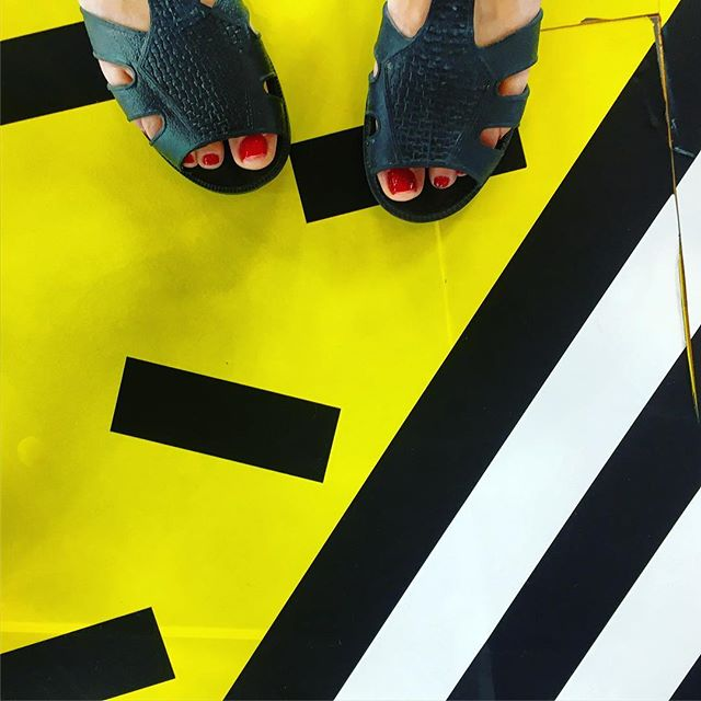 Texture Thursdays. @karibu_sandals link in bio. #colour #texture #shapes #sandals @camillewalala