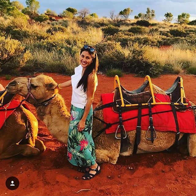 Choose your own adventure. @luika exploring the red centre in her @karibu_sandals. Where will your Karibu's carry you? Link in bio. #travel #adventure #igtravel #sandals
