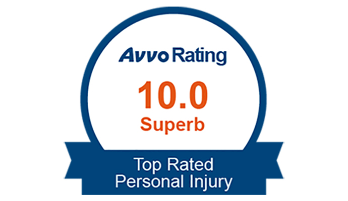 10 out 10 Superb rating at AVVO.com