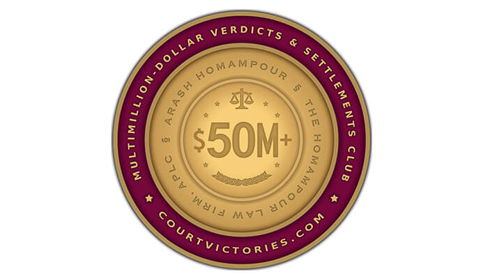 $50 million Verdicts & Settlements Club