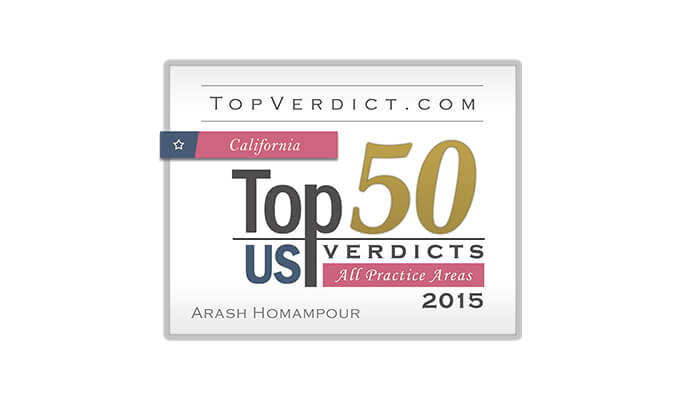Top 50 Verdicts in California - 2015