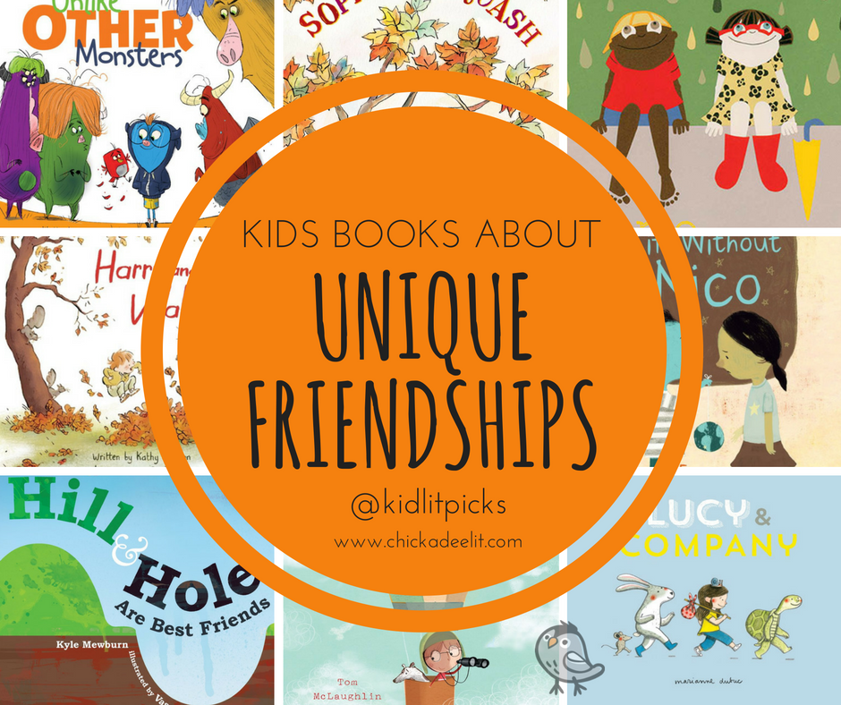 "Read about Alemagna's new book 'The Marvelous Fluffy Squisy Itty Bitty"" in the #kidlitpicks roundup about friendships."