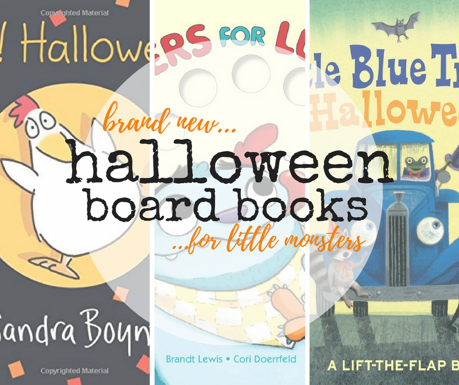 Click here to check out the best new Halloween board books for your little monsters.