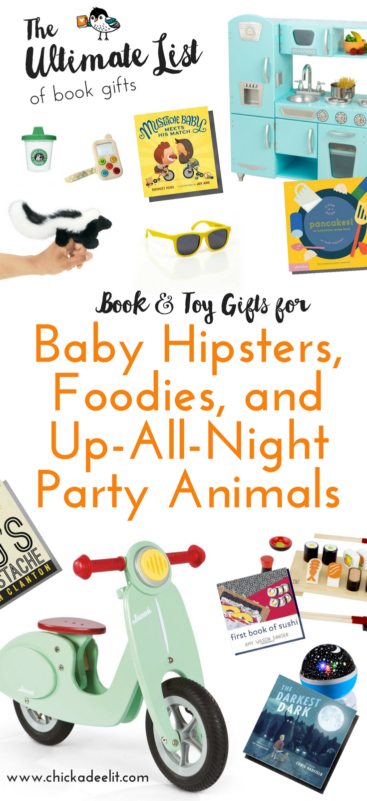 the ultimate list of book gifts baby hipsters foodies tall pinterest.png
