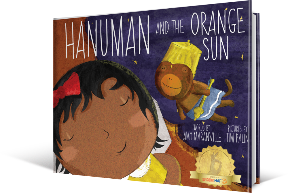 Hanuman and the Orange Sun by Amy Maranville  and Tim Palin