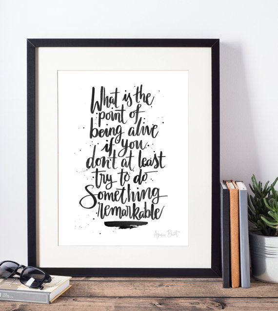 An Abundance of Katherines  quote—John Green—Indigo Eleven on Etsy