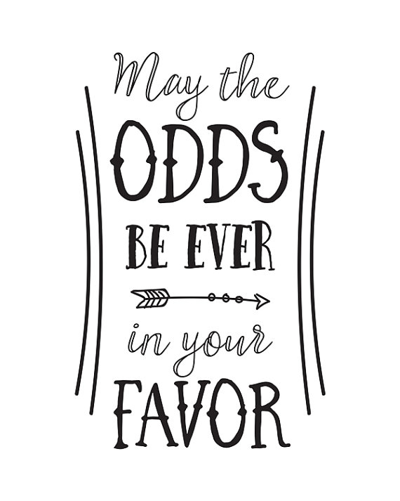 The Hunger Games  quote—Suzanne Collins—Happy Thought Printables on Etsy