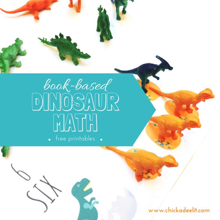 Mo Willems Dinosaur Math for Preschool and Kindergarten — Chickadee Lit