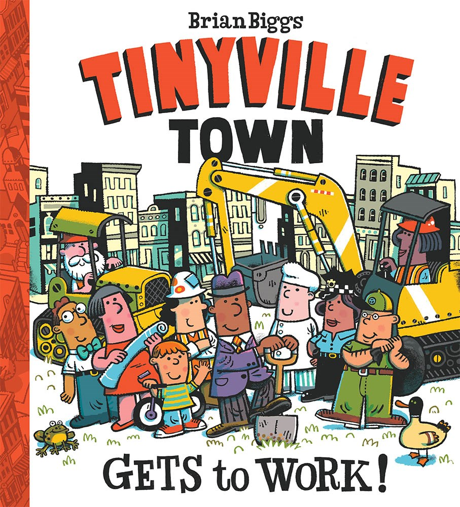 tinyville town gets to work kids books about construction