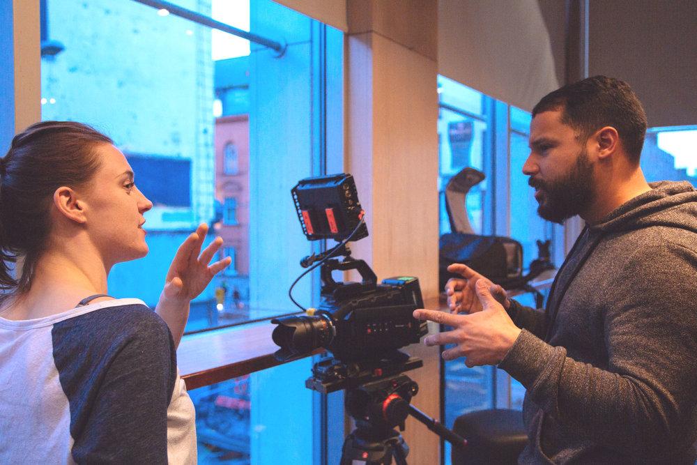 Oona Doherty - Dancer ,Choreographer / Luis Diaz - Filmmaker